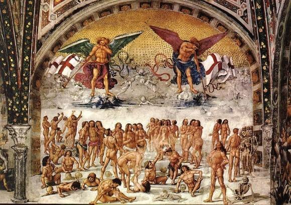 Синьорелли Воскрешение во плоти (1499—1502), Орвьето, Кафедральный собор
