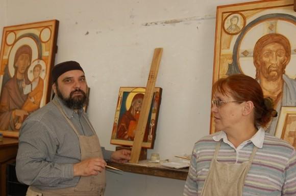 Отец Андрей и матушка Марина Давыдовы