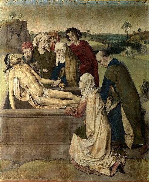 «Погребение Христа», картина Дирка Боутса