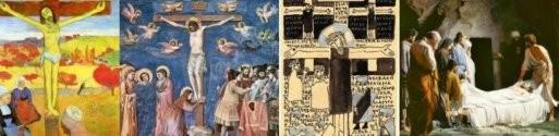 Распятие и Погребение Христа: иконы и картины