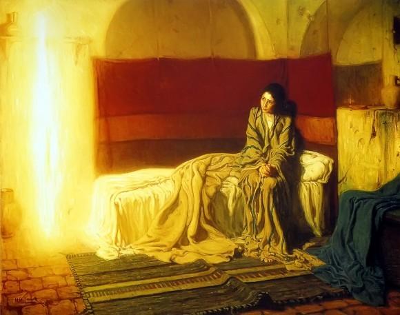 Благовещение. Генри Оссава Танеер, 1896