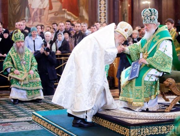 Вербное воскресенье. Изнесение части хитона и Гвоздя от Креста (54)