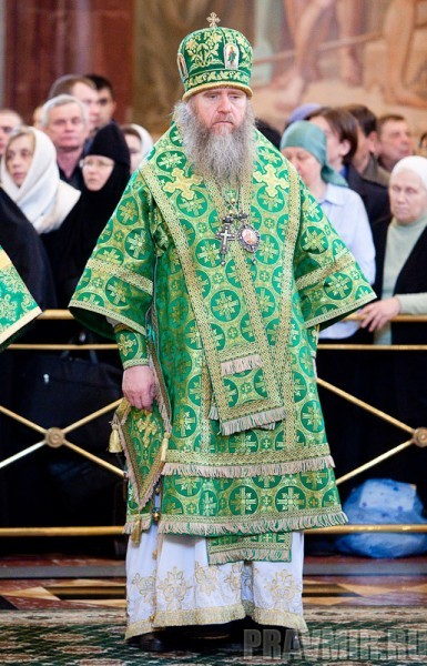 Вербное воскресенье. Изнесение части хитона и Гвоздя от Креста (51)