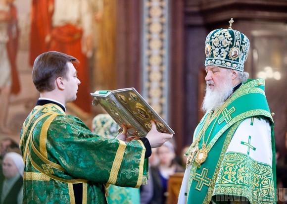 Вербное воскресенье. Изнесение части хитона и Гвоздя от Креста (47)