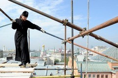 Пасхальный праздник на Новой площади (+ Видео)