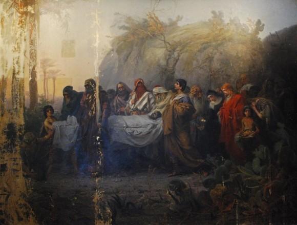 Н. Кошелев. Погребение Христа. 1880-1881гг.