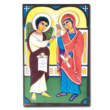 Благовещение. Египетская икона