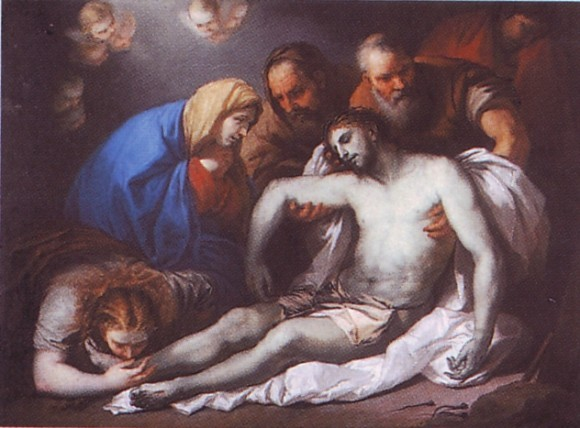 А. Венецианов. Оплакивание Христа, 1811 г.