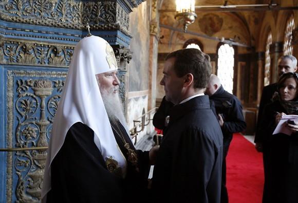 Молебен по случаю вступления в должность Президента России Дмитрия Медведева, фото: Патриархия.ru