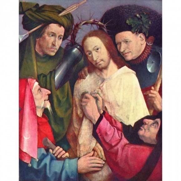 Босх Иероним. Осмеяние Христа