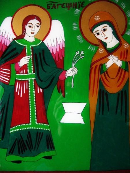 Благовещение. Болгарская икона