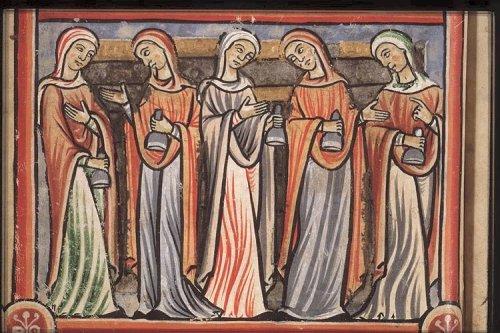 Притча о десяти девах. Франция, 12 век.