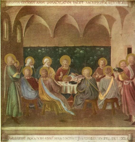 Анжелико-Фра Тайная Вечеря 1450