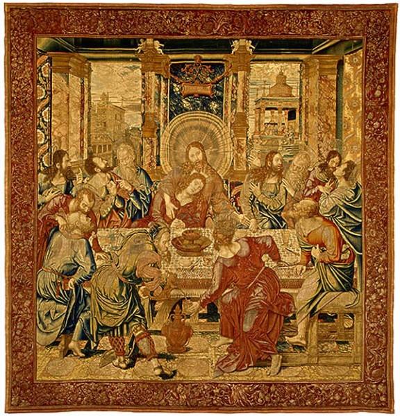 Тайная Вечеря Гобелен 1520-1530