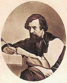 Алексей Хомяков.  С дагеротипа конца 1840-х годов.