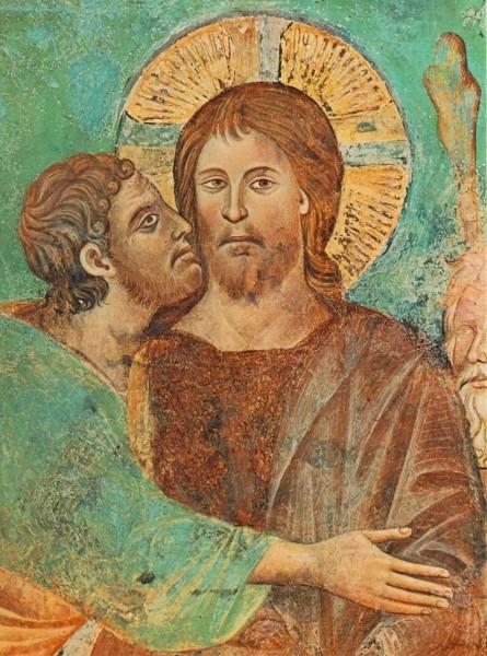 Поцелуй Иуды, Чимабуэ, конец XIII века