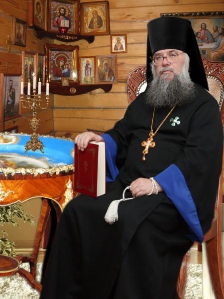 Игумен Феофан (Щелкунов)  в келье