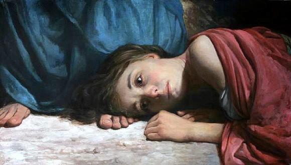 Христос и грешница. Художник: Андрей Миронов
