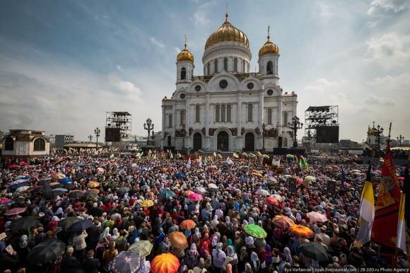 Молебен  в защиту веры 22 апреля 2012 года