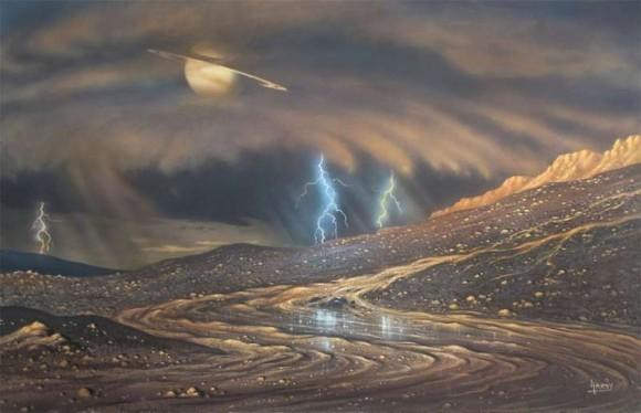 На Титане глазами художника