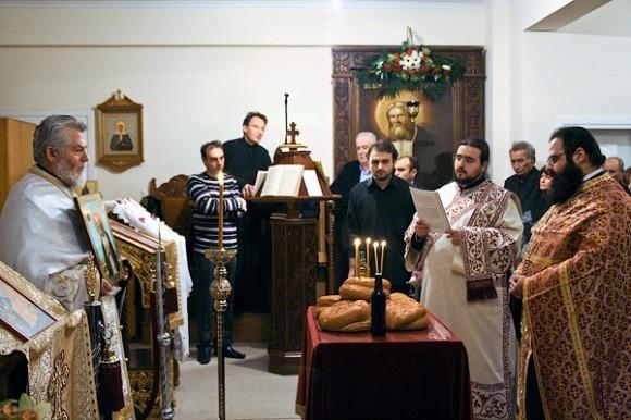 Престольный праздник. 15 января 2011 года
