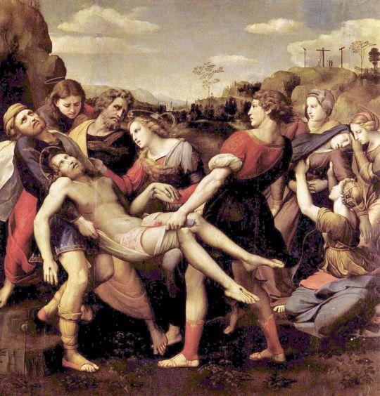 Рафаэль. Положение во гроб. 1507