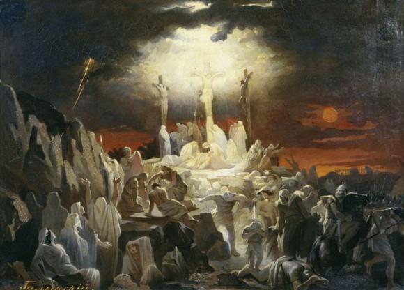 Голынский Василий. Распятие Иисуса Христа