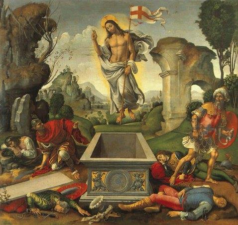 Воскресение Христово. Рафаэлино дель Гарбо
