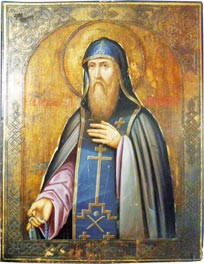 Покровитель Важского края св. Варлаам Важский