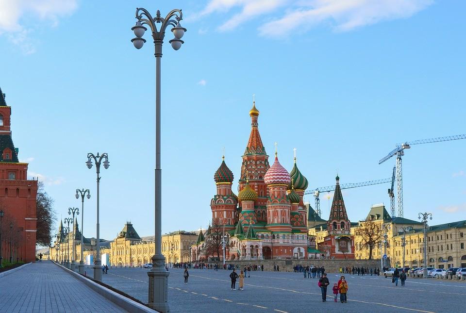 Храм Василия Блаженного в Кремле