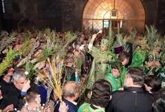 Неделя Ваий в песнопениях Церкви