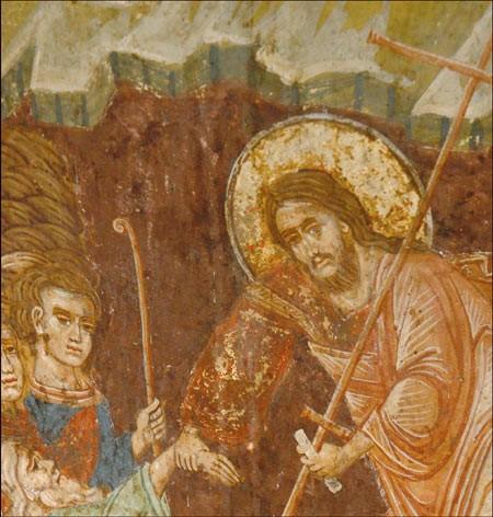 Воскресение Христово. Сербская икона