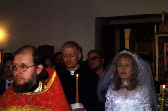 Свадьба Ольги Кормухиной и Алексея Белова, 1999