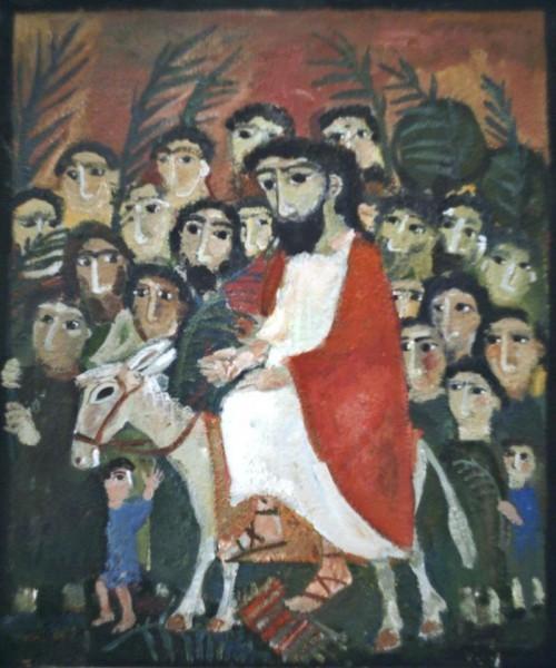 Вход Господень в Иерусалим. Елена Черкасова
