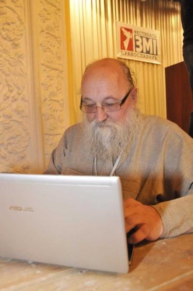 о. Александр Авдюгин - тоже участник Феста СМИ