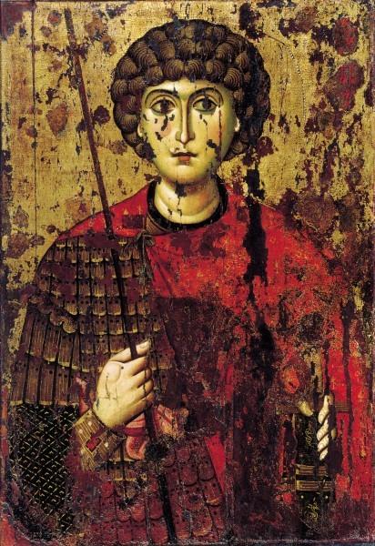 Икона. XI в. Происходит из новгородского Софийского собора. Успенский собор Московского Кремля, Москва