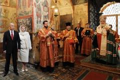Молебное пение по случаю вступления в должность Президента Российской Федерации Владимира Путина (ФОТО)