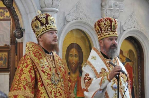 Епископ Обуховский Иона и епископ Макеевский Варнава