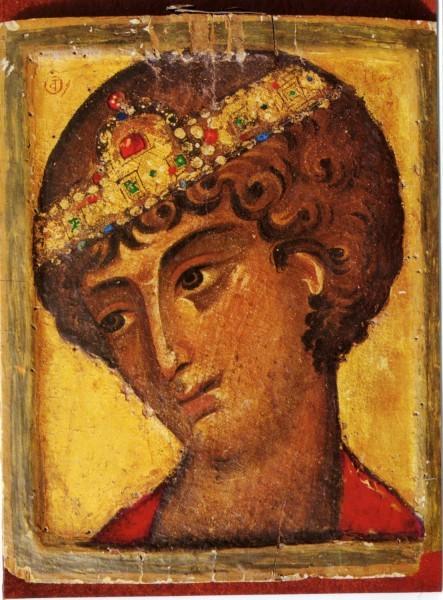 Св. Георгий оплечный. Кон. XII - нач.XIII в. Монастырь св. Екатерины на горе Синай
