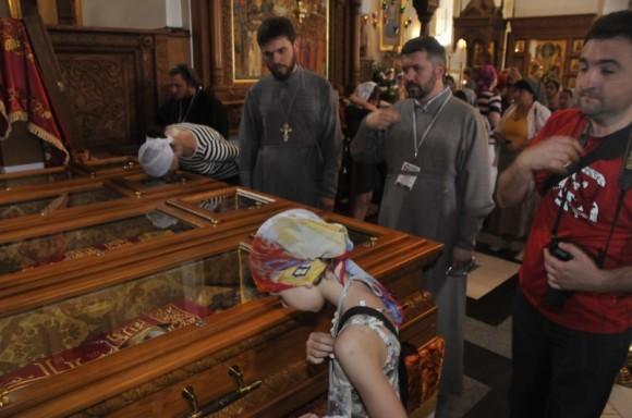 Преподобные отцы Святогорские, молите Бога о нас!