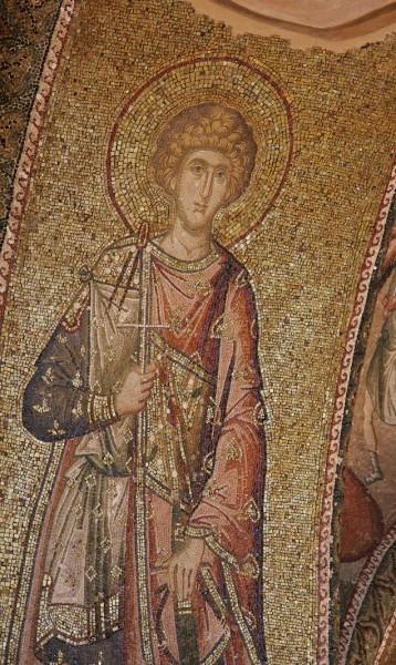 Мозаика экзонартекса константинопольского монастыря Хора (Кахрие Джами). Ок. 1316–1321 гг. Стамбул, Турция
