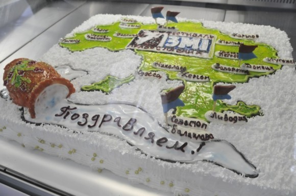 Сюрприз - юбилейный торт