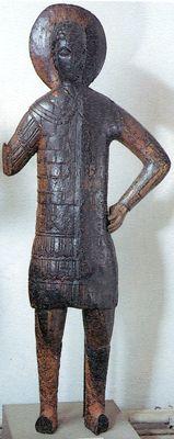Деревянная скульптура. Кон. XIV - нач. XV в. Музеи Московского Кремля