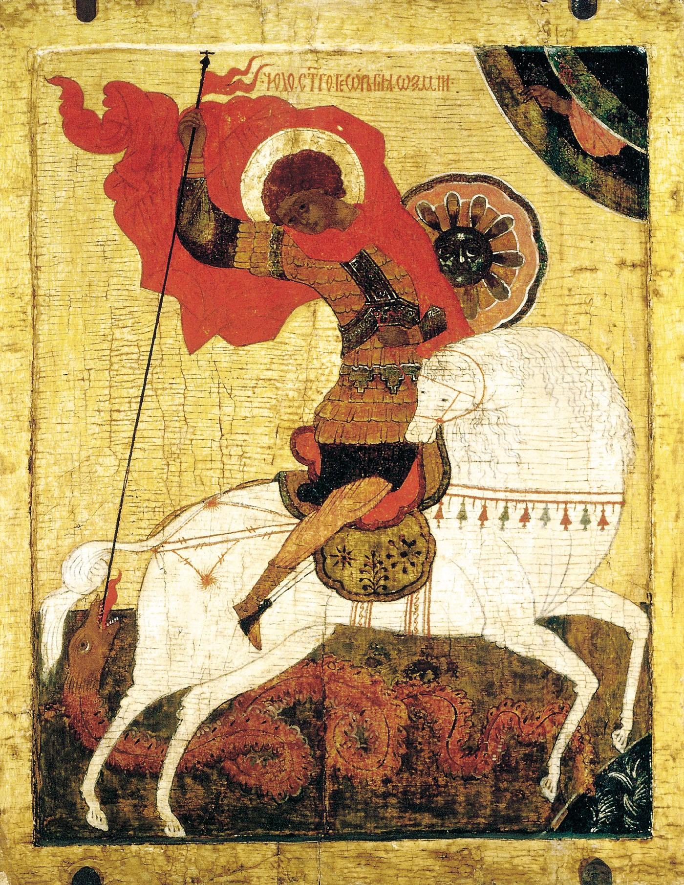 Работы иконописцев иконы святого георгия мученика