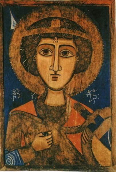 Икона. XVв. Сванетия. Церковь св. Георгия, Местия, Грузия