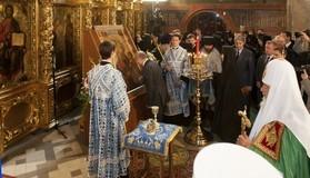 Возвращение Иверской в Новодевичий монастырь (ФОТО)