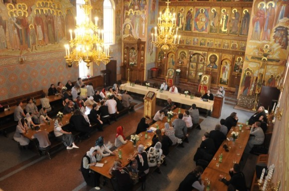 Мастер-класс в трапезном храме Никольской обители