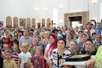 Молебен новомученикам и исповедникам Казахстанским. Фото: С. Власов, Патриархия.ru
