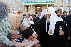 Астана: встречать Патриарха — за 300 километров (+ ФОТО)