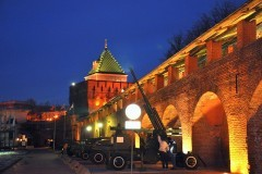 Дмитриевская башня-музей в Нижнем Новгороде